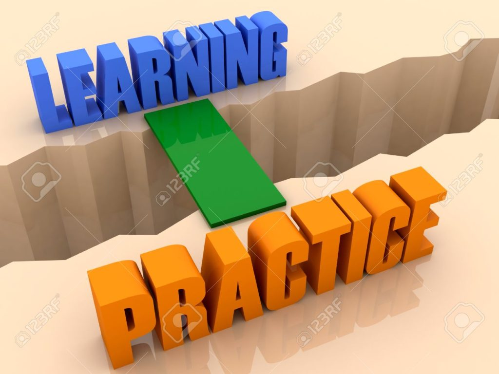 learners practice