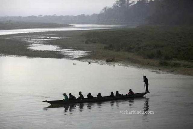 sailing-boat vicharbindu